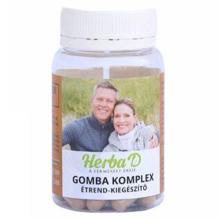 Herba-D Gomba Komplex kapszula - 30db