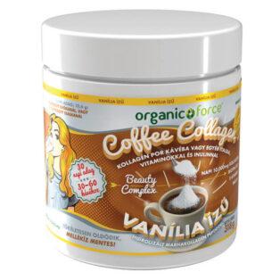 Organic Force Coffee Collagen - Kávékollagén vanília ízű - 318g
