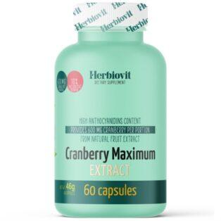 Herbiovit Cranberry Maximum Extract kapszula - 60db