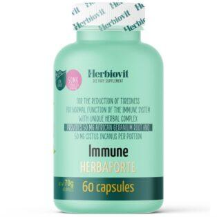 Herbiovit Immune Herbaforte kapszula - 60db