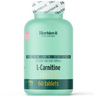 Herbiovit L-Carnitine 1500mg tabletta - 60db